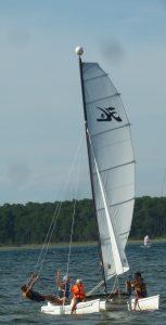 cours de catamaran à Sanguinet