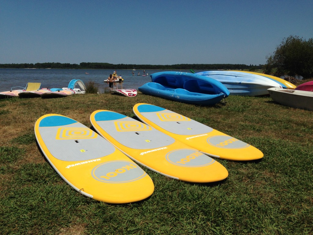 stand up paddle sanguinet